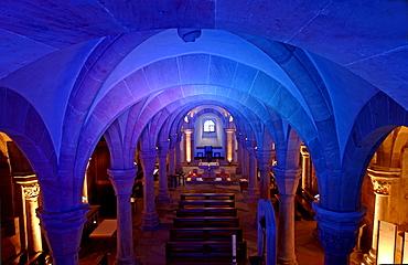 Crypt, Bamberg Cathedral, Bamberg, Franconia, Bavaria, Germany, Europe