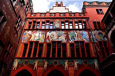 Inner courtyard, Town Hall, Basel, Switzerland