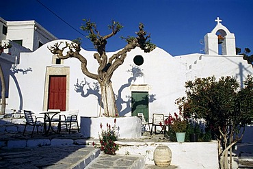 Chora, Amorgos, Cyclades, Greece
