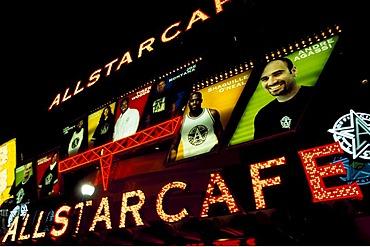 Allstarcafe, Las Vegas, Nevada, USA