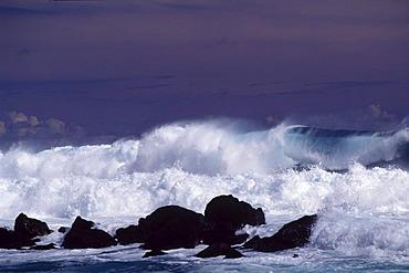 Breakers, Boucan Canot, Reunion island, Indian Ocean