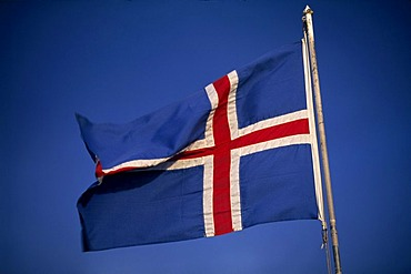 National flag of Iceland