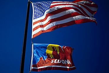 Stars and Stripes, Sedona, Arizona, USA