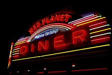 Diner, Sedona, Arizona, USA