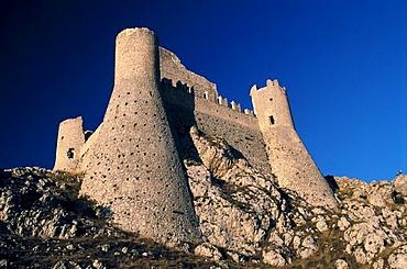 Rocca Calascio, Campo Imperatore, Abruzzo, Italy