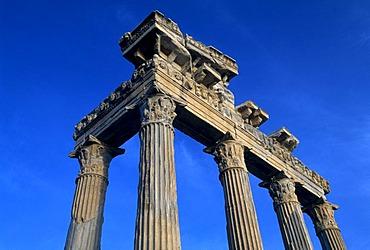 Temple of Apollo, Side, Turkish Riviera, Turkey