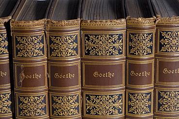 Old classics edition books, Goethe