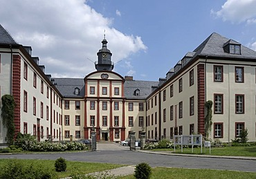 Residenzschloss Palace, Saalfeld, Thuringia, Germany, Europe