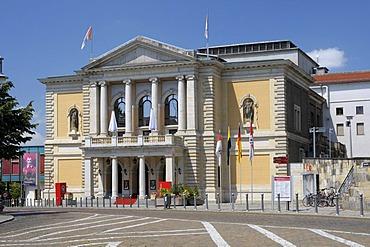 Opera house, Halle/Saale, Saxony-Anhalt, Germany, Europe