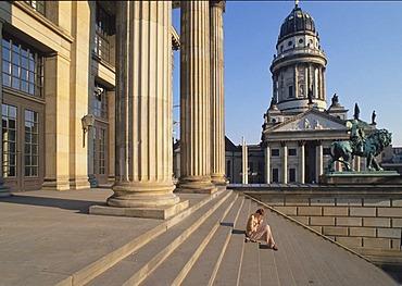 Gendarmenmarkt, Schauspielhaus, Concert Hall, French Cathedral, Berlin, Germany