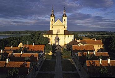 Cameldolite Monastery, Wigry Lake, Masuria, Poland