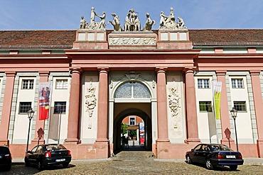 Haus der Brandenburgisch Preussischen Geschichte, House of Brandenburg-Prussian History, former royal carriage barn, Potsdam, Brandenburg, Germany, Europe
