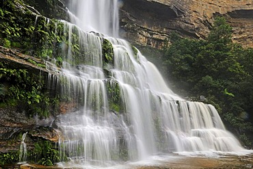 Waterfall in the Blue Mountains, New South Wales, Australia