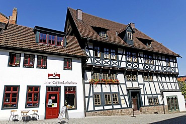 Luther House Museum, Eisenach, Thuringia, Germany, Europe