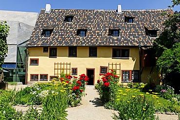 Bachhaus, or Bach House, Johann Sebastian Bach Museum, Eisenach, Thuringia, Germany, Europe