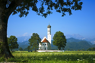 Pilgrimage Church Saint Coloman near Schwangau, Bavaria, Germany