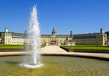 Castle grounds, Karlsruhe, Baden-Wuerttemberg, Germany