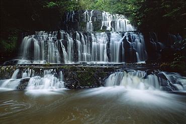 Purakanui Falls, Catlins, South Island, New Zealand, Oceania