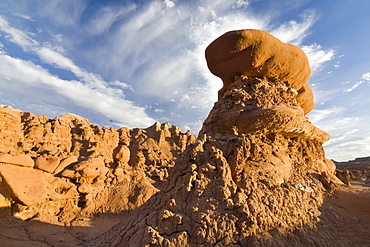 Sandstone formations in Goblin Valley State Park, Utah, USA