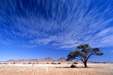 Clouds in the Namib-Naukluft National Park, Namibia, Africa