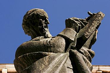 Memorial by Ivan Meoetrovic in honor of Marko Marulic in Split, Split, Croatia, Europe