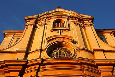 Chapelle de la Misericorde, chapel in the historic centre of Nice, Cote d'Azur, France
