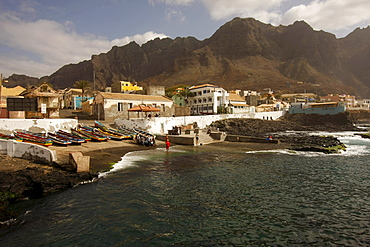 Ponta do Sol on Santo Antao Island, Cape Verde, Cape Verde Islands, Africa