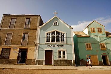 Igrja do Nazarena Church of Ribeira Grande on Santo Antao Island, Cape Verde, Cape Verde Islands, Africa