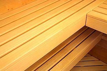 Sauna benches