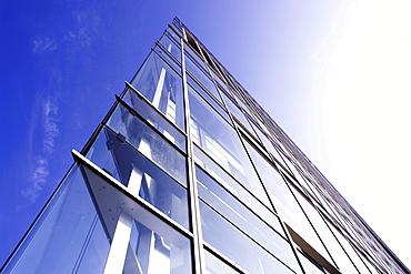 Glass front, Deichtor office building, Hamburg, Germany