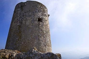 Talaia d'Albercutx, an old Pirate Watch Tower at Cape Formentor, Majorca, Balearic Islands, Spain, Europe