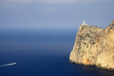 Lighthouse on Cap Formentor, Majorca, Balearic Islands, Spain, Europe