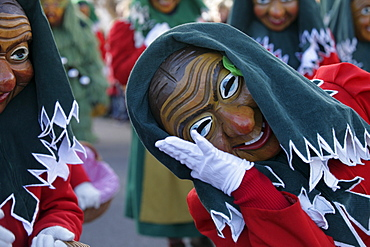 Swabian-Alemannic carnival, celebrated in South Germany, Switzerland and West Austria before Lent, Ratzenried, Baden-Wuerttemberg, Germany