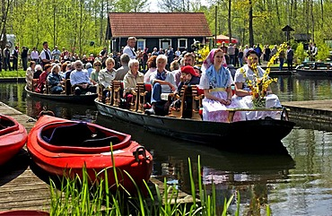 Trip through the Spreewald in a rowing boat