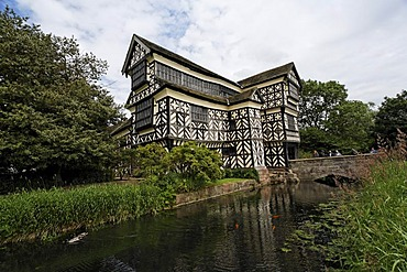 Little Moreton Hall, Congleton, Cheshire, England