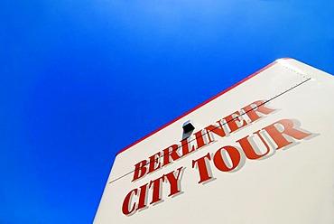 Sign: Berlin City Tour, Berlin, Germany