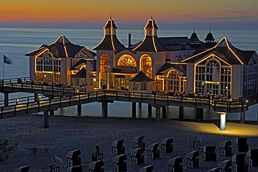 Pier of Binz, Ruegen, Mecklenburg-Western Pomerania, Germany