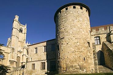 Cathedrale Saint-Just, Palais des Eveques, Narbonne, Languedoc-Roussillon, France