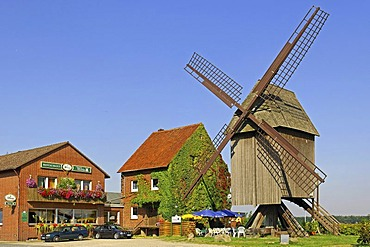 Windmill Sorgenser Muehle at Burgdorf, Lower Saxony, Germany