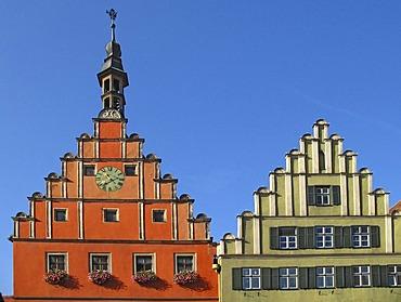 Oldtown of Dinkelsbuehl, Bavaria, Germany