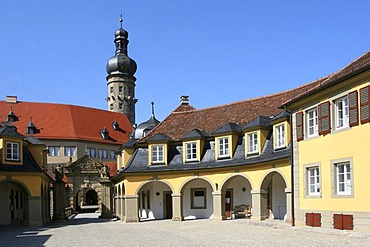 Castle of Weikersheim, Baden-Wuerttemberg, Germany