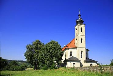 Pilgrim church of Maria Limbach near Bamberg, Franconia, Bavaria, Germany