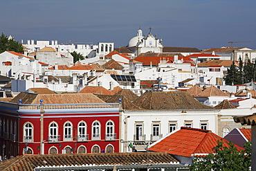 Old town, Tavira, Algarve, Portugal