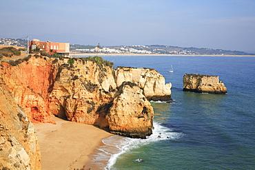 Praia do Pinhao, Lagos, Algarve, Portugal