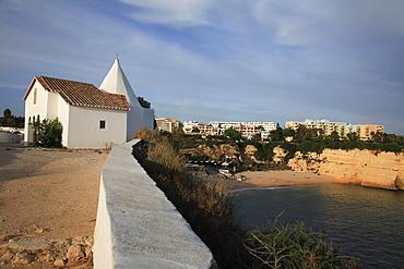 "Senhora da Rocha Chapel, ""Woman of the Cliffs, "" near Lagoa, Algarve, Portugal"