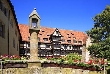 Coburg Fortress, courtyard, Coburg, Upper Franconia, Bavaria, Germany, Europe