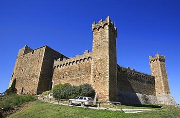 Fortezza (fortress), Montalcino, Siena, Tuscany, Italy