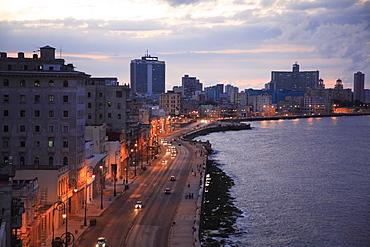Promenade at the Malecon, Havana, Cuba, Caribbean