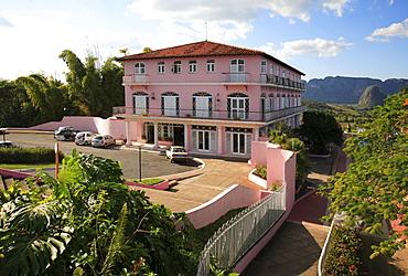 Hotel Jazmines in Valle de Vinales, western Cuba, Caribbean