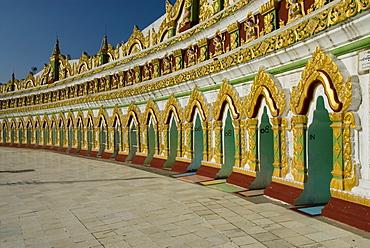 Temple complex on Mandalay Hill, Mandalay, Myanmar (Burma), Southeast Asia
